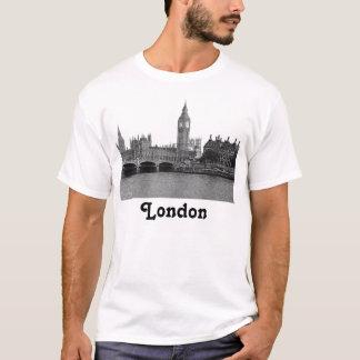 T-shirt Horizon BRITANNIQUE de Londres Angleterre gravé à