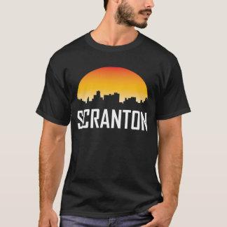 T-shirt Horizon de coucher du soleil de Scranton