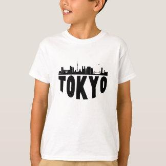 T-shirt Horizon de paysage urbain de Tokyo Japon