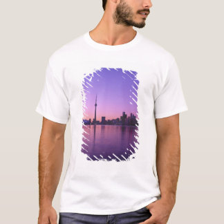 T-shirt Horizon de Toronto la nuit, Ontario, Canada