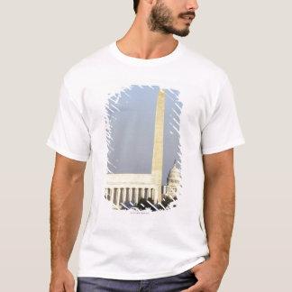 T-shirt Horizon de Washington DC avec le bâtiment de