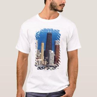 T-shirt Horizon et points de repère de Chicago