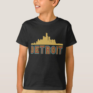 T-shirt Horizon vintage de Detroit Michigan de style