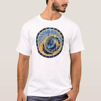T-shirt Horloge astrologique de Prague