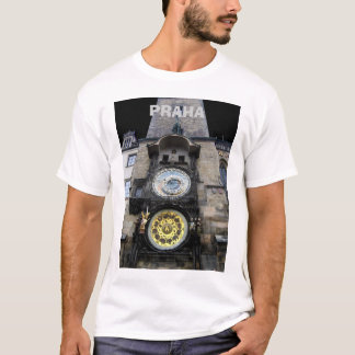 T-shirt Horloge astronomique à Prague