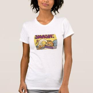 T-shirt Horloge sensationnelle de Garfield, la chemise des