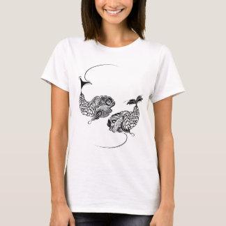 T-shirt Horoscope de poissons, zodiaque, Poissons