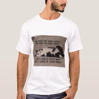 T-shirt hors de la boucle