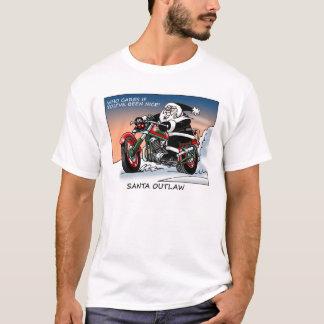 T-shirt Hors-la-loi de Père Noël