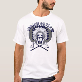 T-shirt Hors-la-loi d'Indien