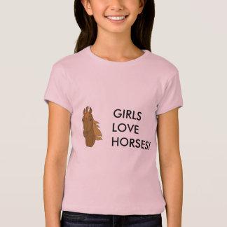 T-shirt horse1, CHEVAUX d'AMOUR de FILLES !