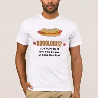 T-shirt Hot-dog drôle