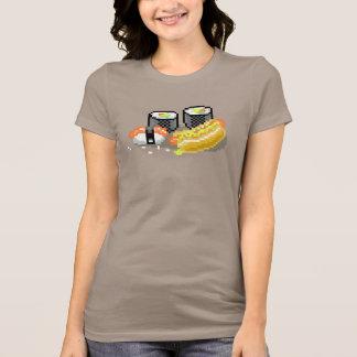 T-shirt Hot-dogs et sushi