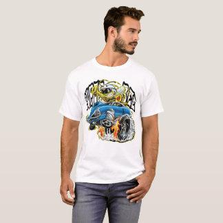 T-shirt Hot rod d'abeille de monstre