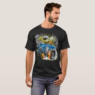 T-shirt Hot rod fait sur commande d'abeille du monstre