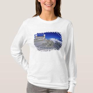 T-shirt Hôtel de Kulm et traînée, Gornergrat, Zermatt,