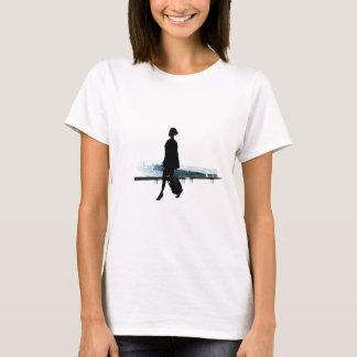 T-shirt hotesse de l air
