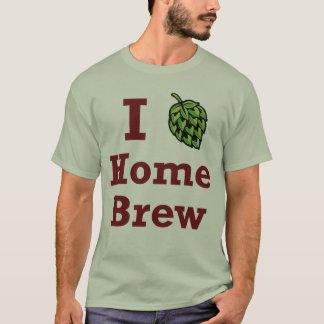 T-shirt [Houblon] chemise du Brew I à la maison
