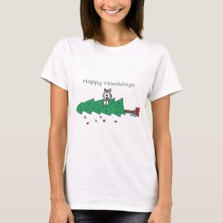 T-shirt Howlidays heureux