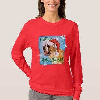 T-shirt Howlidays heureux St Bernard