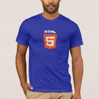 T-shirt HTML5 bleu-foncé