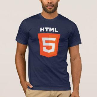 T-shirt HTML5 (sur le T-shirt foncé)