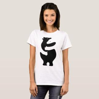 "T-shirt Huggers ""copie de noir """