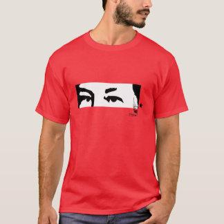 T-shirt Hugo Chávez : Yeux et signature
