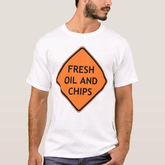 T-shirt Huile et puces fraîches