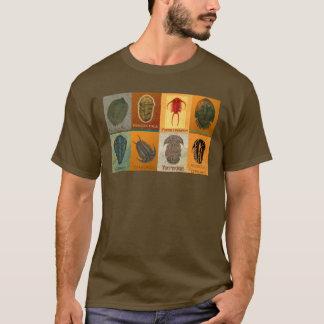 T-shirt Huit fossile Trilobites