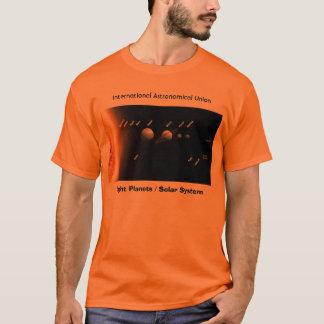 T-shirt Huit planètes et nouveau système solaire, I