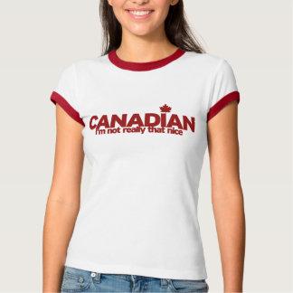 T-shirt Humeur canadienne