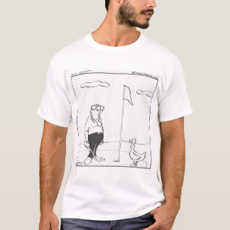 T-shirt humoristique de golf