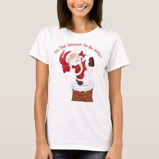 T-shirt humoristique de Noël des femmes