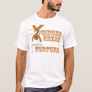 T-shirt Humour bizarre de torture de bonhomme en pain