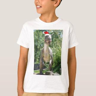 T-shirt Humour de dinosaure de Noël