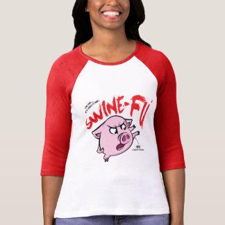 T-shirt Humour de Fu de porcs
