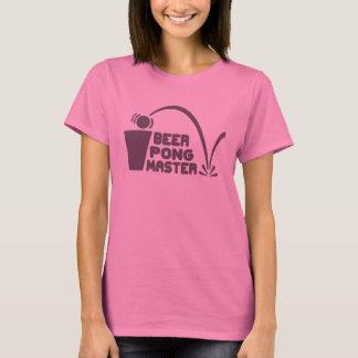 T-shirt Humour de T-shirt, maître de puanteur de bière