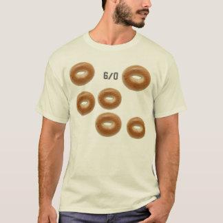 T-shirt Humour des bagels de tennis 6 à 0