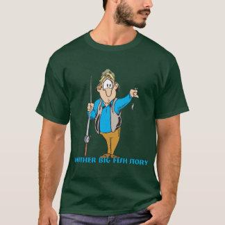T-shirt Humour drôle de pêche de chemise de pêche pêchant