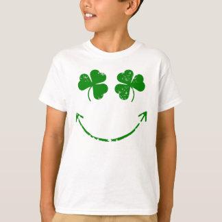 T-shirt Humour souriant de visage du jour de St Patrick