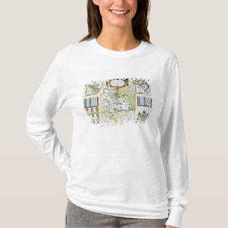 T-shirt Huntington, gravé par Jodocus Hondius