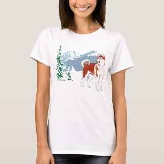 T-shirt Husky Sibérien