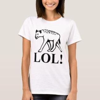 T-shirt Hyène - rire LOL bruyant