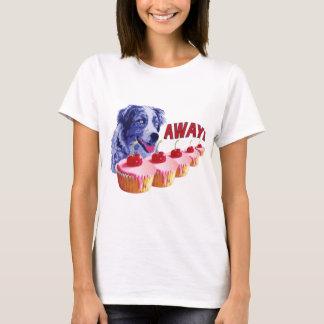 T-shirt Hypnotisé - taches le chien de petit gâteau - loin