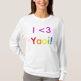 T-shirt I <3 Yaoi !