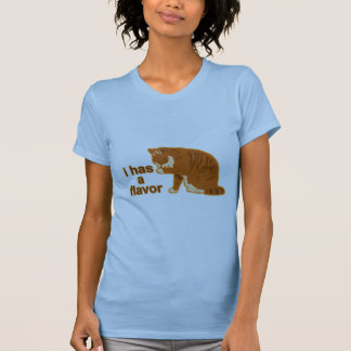 T-shirt I a une saveur, CAT de LOL