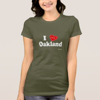 T-shirt I amour (de Hella) Oakland