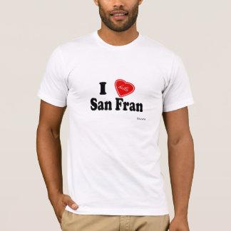 T-shirt I amour (de Hella) San Fran