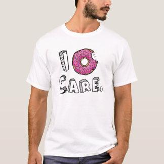 T-shirt I beignet rose mordu par soin de beignet